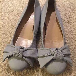 J.crew collection cece bow ballet flat shoes
